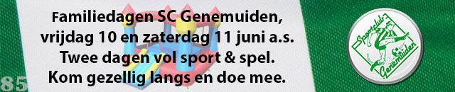 Familiedagen SC Genemuiden